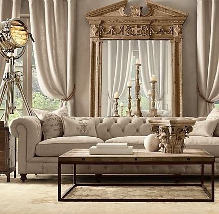 Rooms With Restoration Hardware Kensington Sofa Google Search A