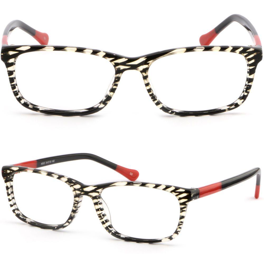 8b6c85f81e Thin Light Women Acetate Prescription Glasses Lenses RX Sunglasses Plastic  Frame