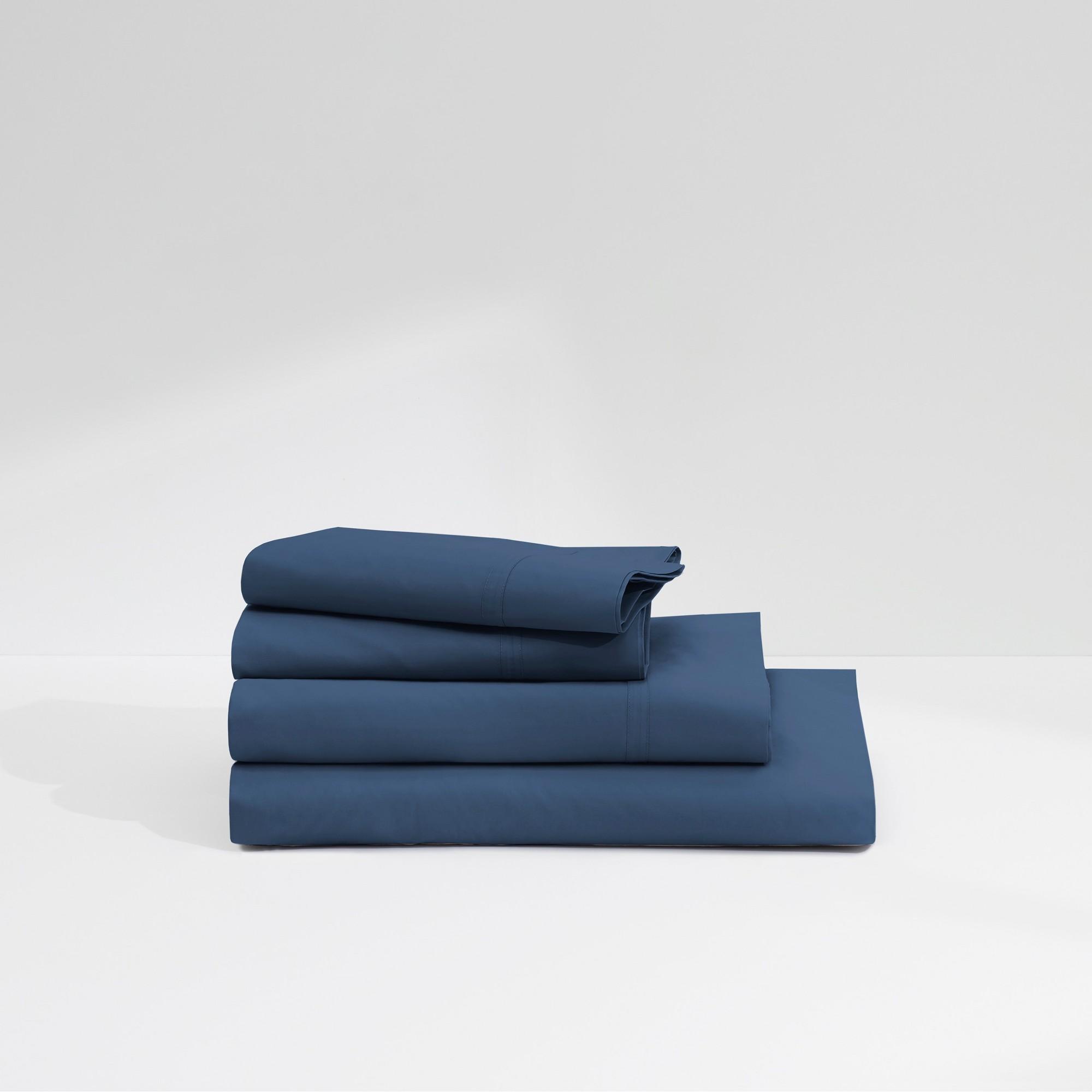 Casper Sleep Twill 360TC Sheet Set Navy (Blue