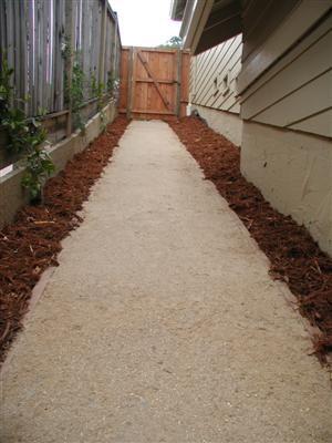 how to make a garden path