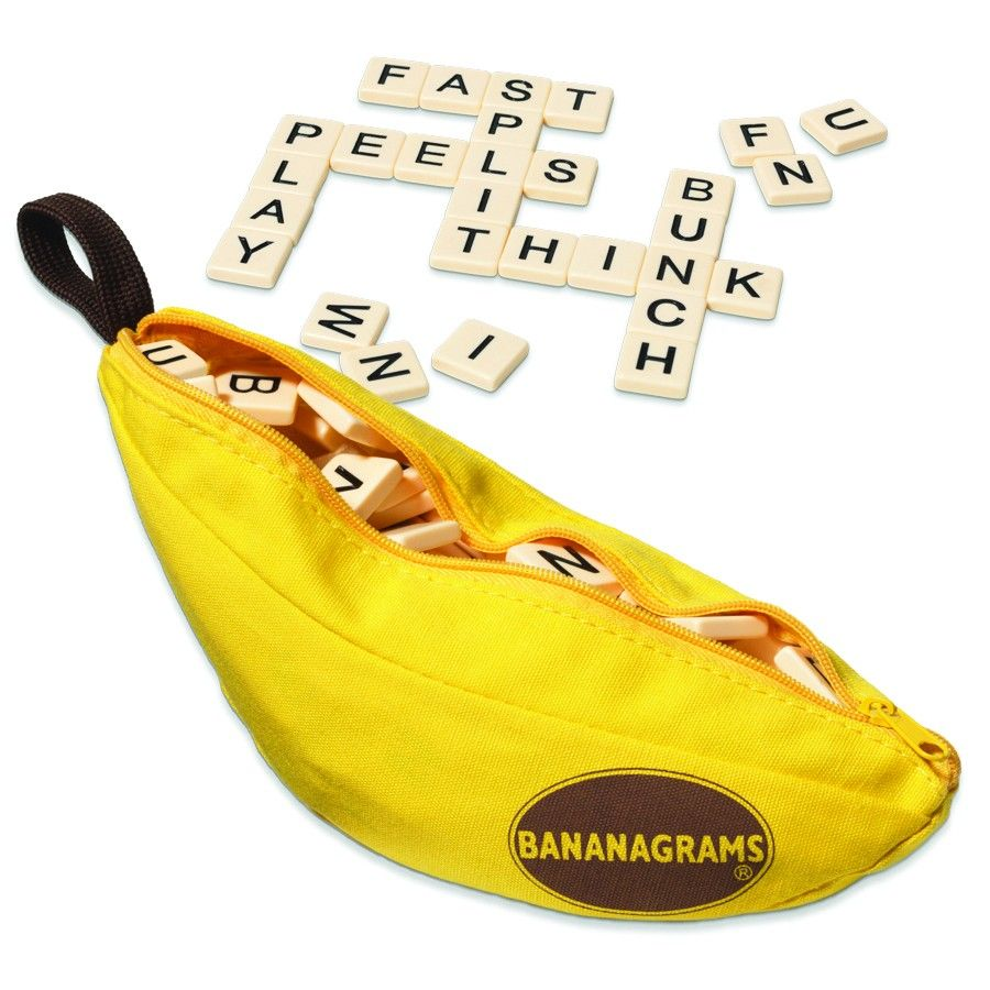 Bananagrams This Includes 144 Letter Tiles Of The Same Size And Shape Players