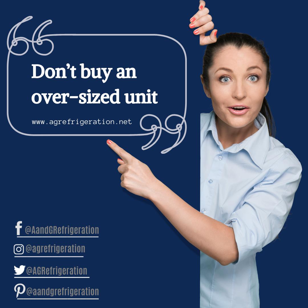 Don't buy an oversized unit in 2020 The unit, Catholic