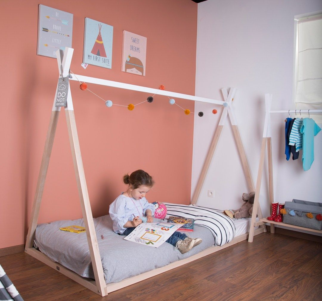 Tipi Bett 120x200 Childhome Tipi Bed Teepee Bed Kids Bed Child S Bed