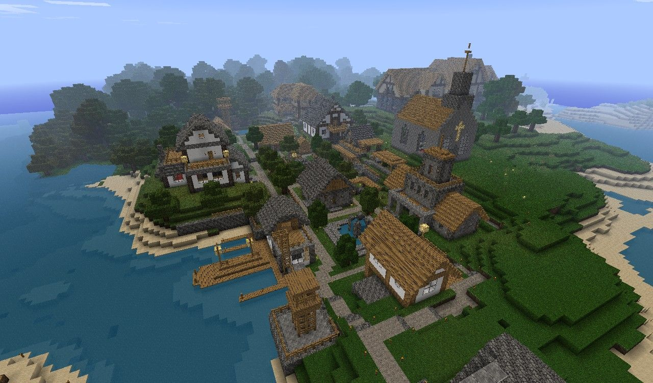 One day he came out and saw all town was destroyed and zombies burning in sun light description - Planetminecraft com ...