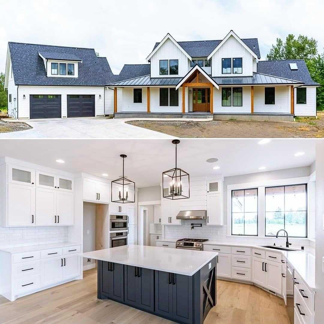 Inspiring Farmhouse Exterior Ideas In 2020 House Plans Farmhouse House House Plans