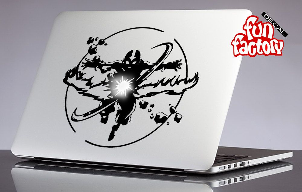 Aang avatar the last airbender macbook decal sticker 0179mac by fundecalfactory on etsy