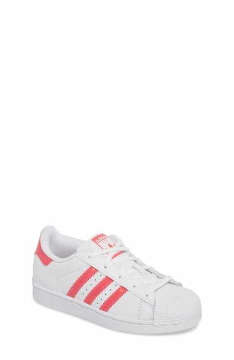 Adidas Superstar perforado low - top zapatilla (Toddler bebe, Walker,