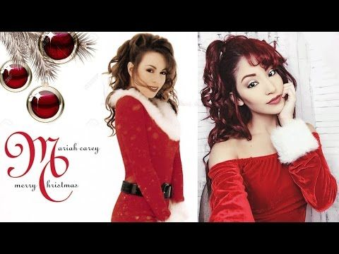 Mariah Carey All I Want For Christmas Is You Makeup And Hair Tutorial 90s Mariahcarey Mariah Carey Mariah Mariah Carey Christmas