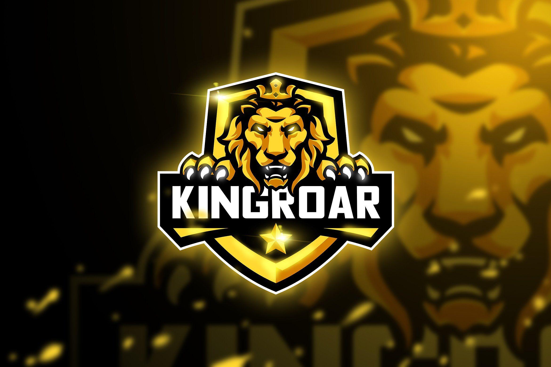 Kingroar Mascot & Esport logo Serigala, Desain