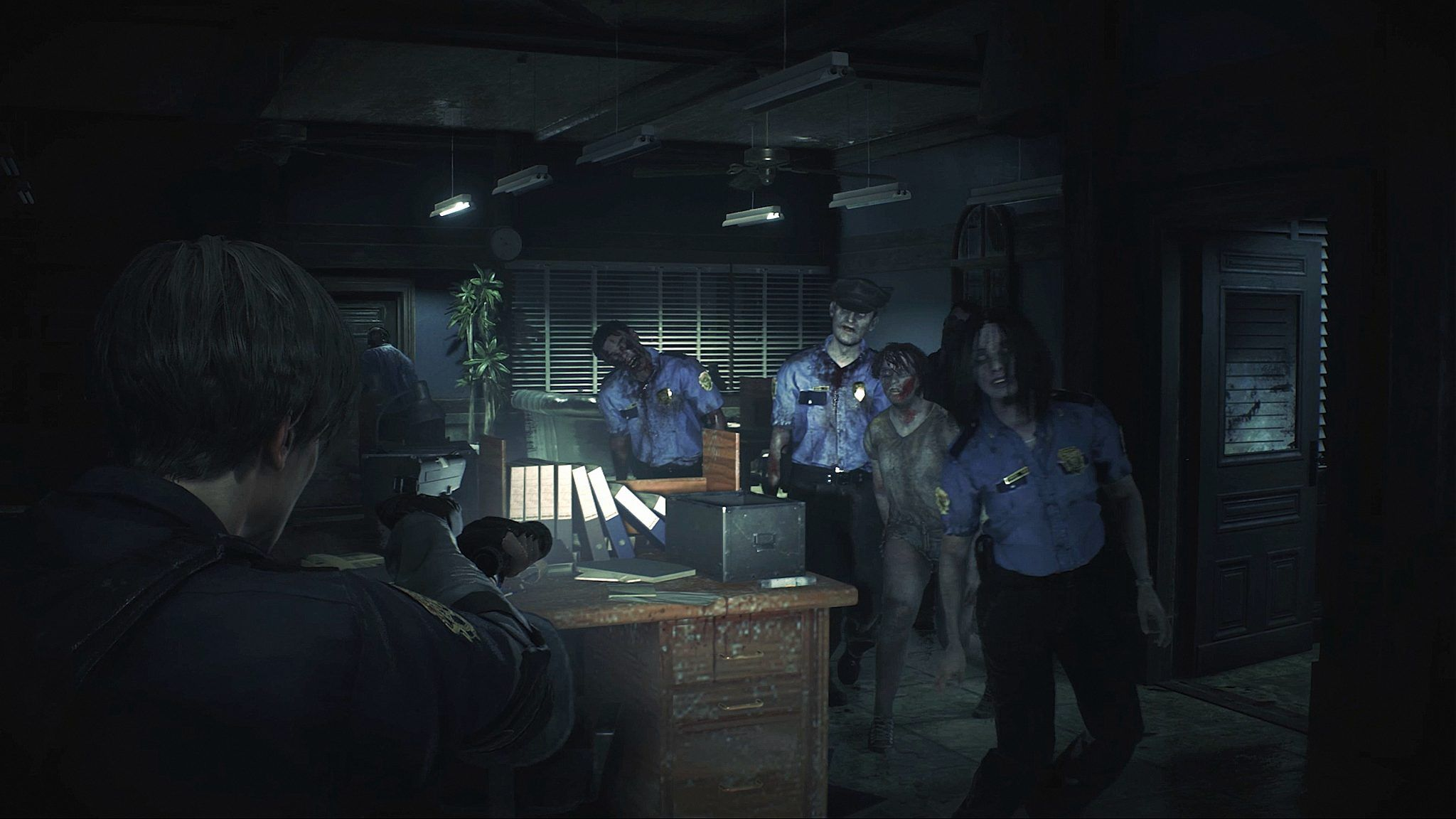 Resident Evil 2 Remake Official 4k Screenshots Give A New Look To Raccoon City