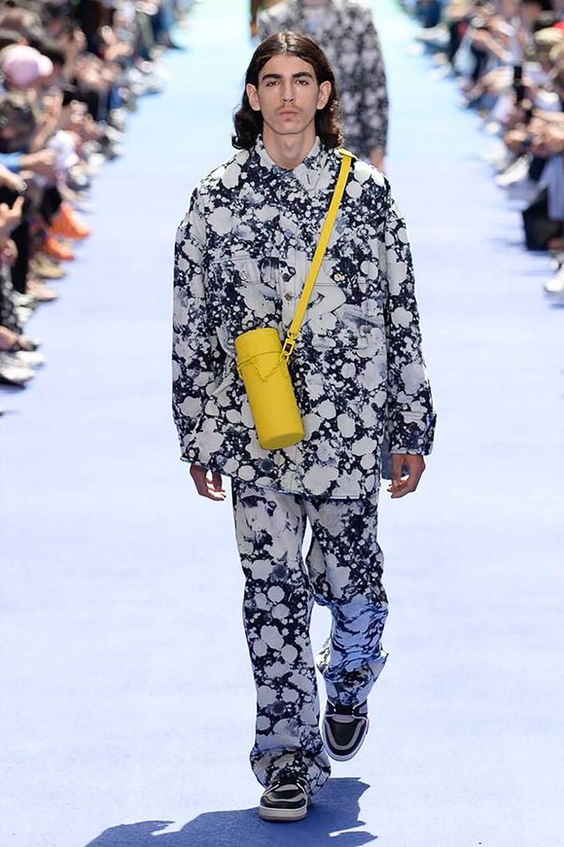 """de36c602a444 Louis Vuitton SS19 Review  Virgil Abloh handed out a document titled """"The  Vocabulary According to Virgil Abloh"""