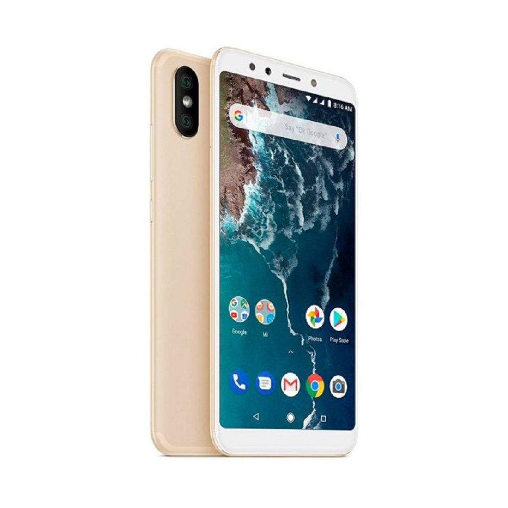 Xiaomi Mi A2 Dorado Movil 4g Dual Sim 5 99 Ips Fhd 8core 64gb
