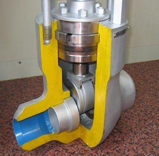 parallel slide valve