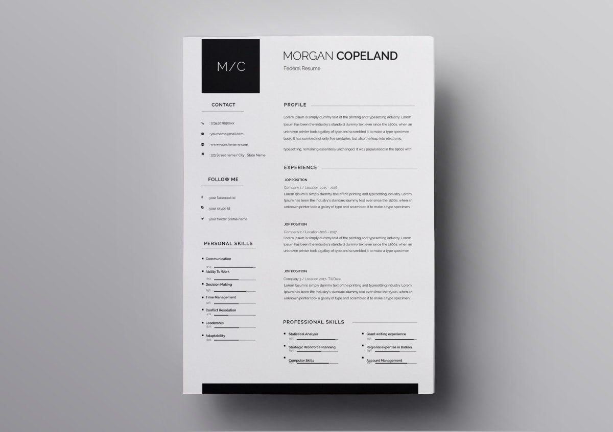 Pages Resume Templates 10 Free Resume Templates For Mac Resume Template Free Resume Template Resume Templates
