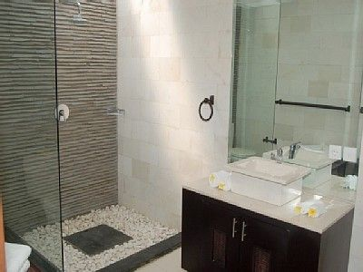 Small Ensuite Bathroom Interesting Shower Base Idea