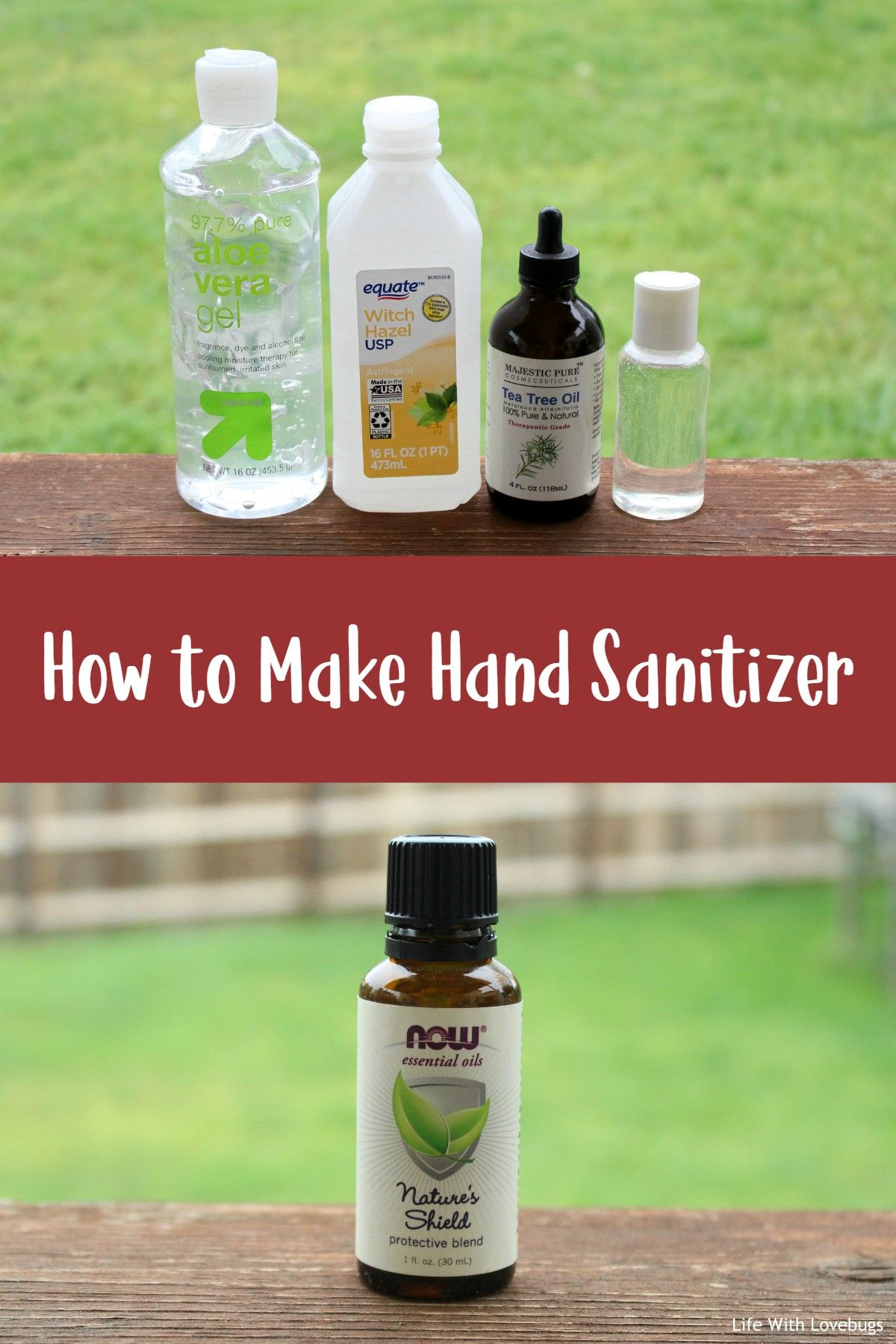 Diy homemade hand sanitizer in 2020 sanitizer hand