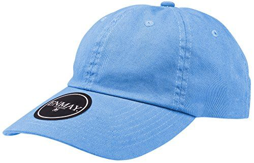 2e90ab2ad Enimay Low Profile Hat w/ Adjustable Brass Buckle Plain Baseball Cap (Many  Colors Available)