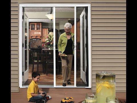 Odl Brisa Retractable Screen Double Door Installation Video