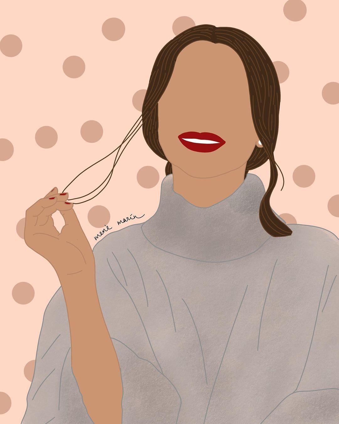 """Merce Marín on Instagram: """"✨¿Ya tienes tu ilustración personalizada para esta navidad?🎁 Os recuerdo que la fecha límite para hacer vuestros pedidos es el Lunes 9! ❤️…"""""""
