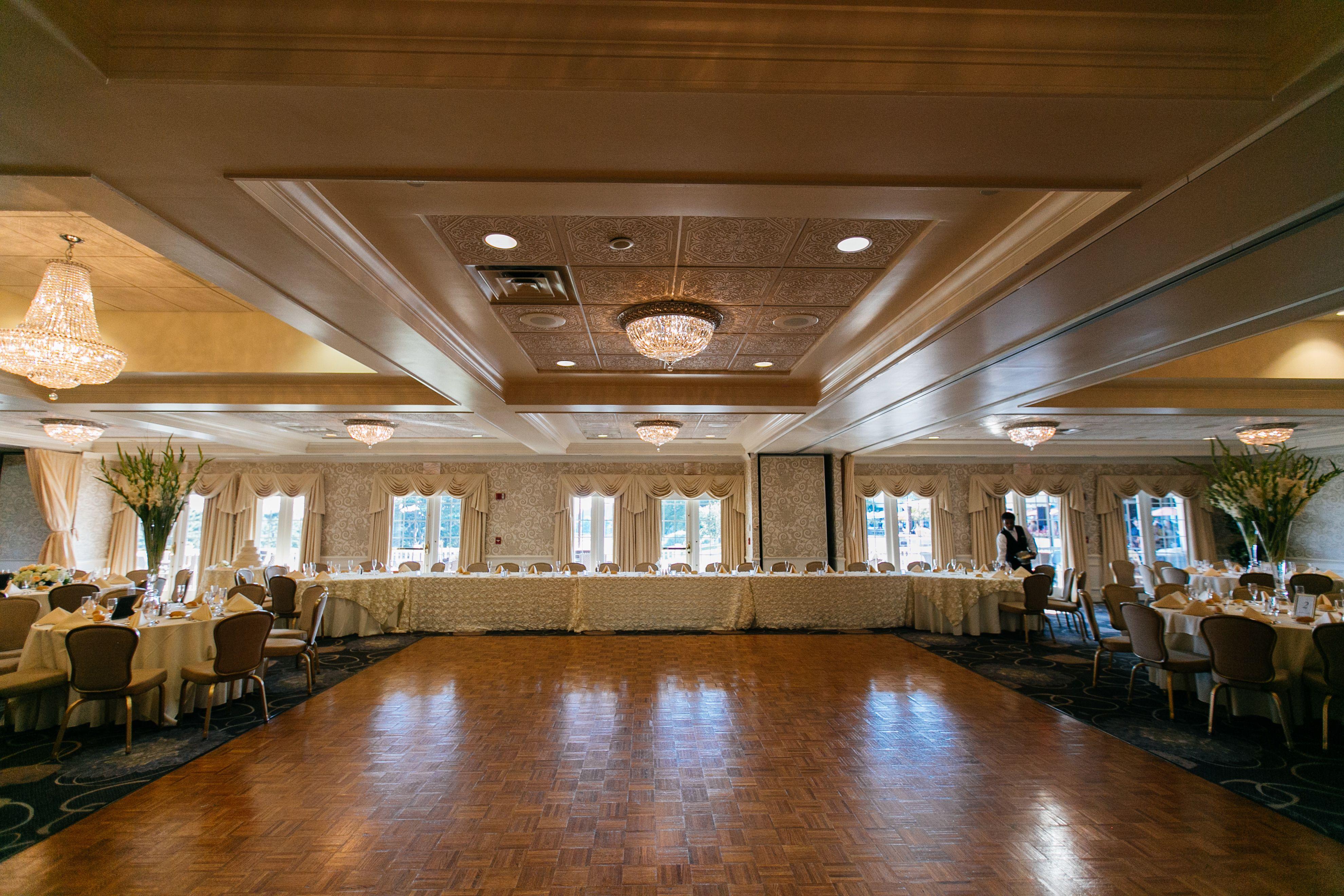 Bridal Table Golf View Ballroom At Springfield Country Club
