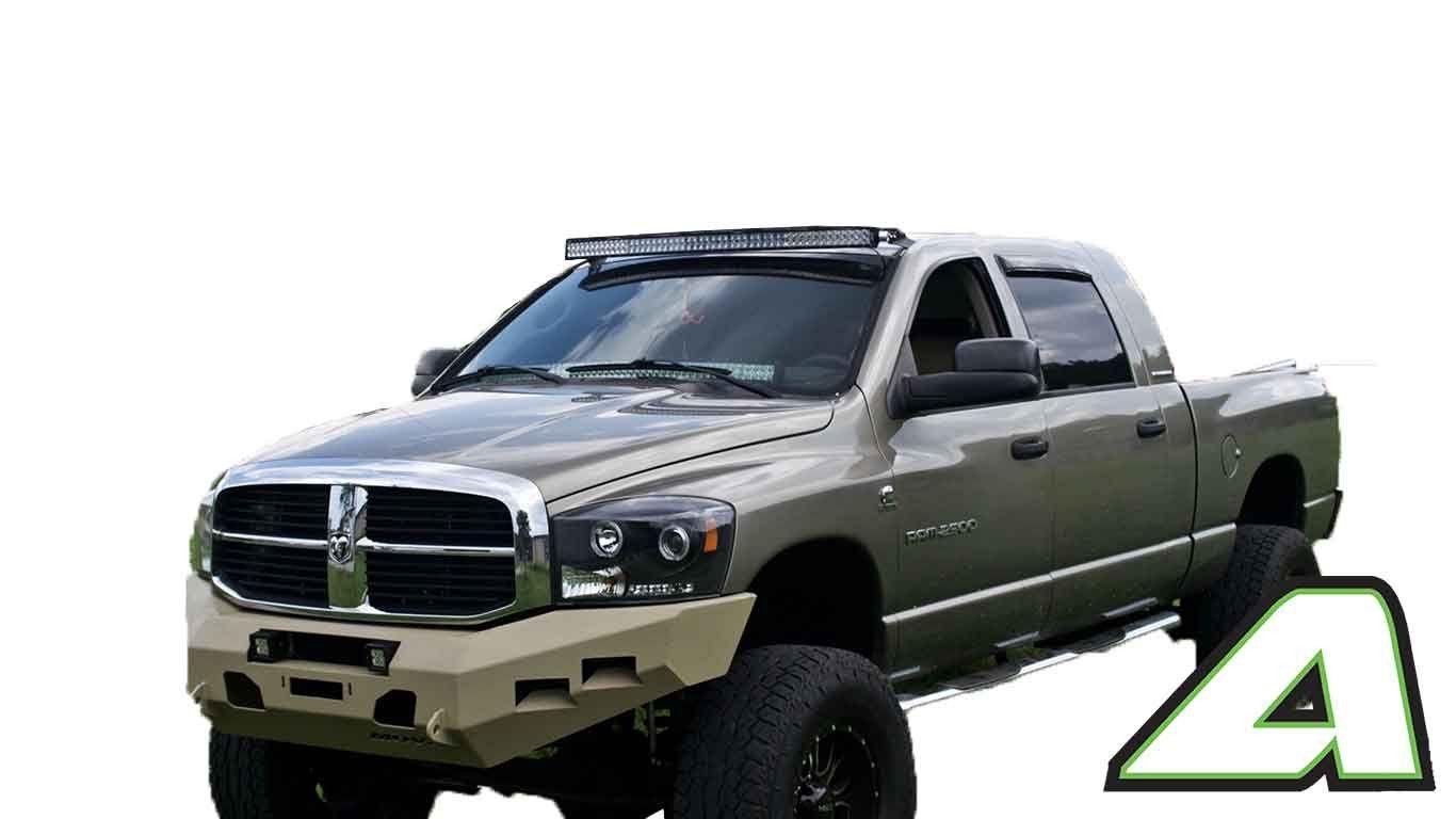 02 08 Dodge Ram 1500 Apoc Roof Mount For 52 Curved Led Light Bar Dodge Ram 1500 Ram 1500
