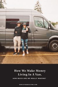 How We Make Money Living In A Mercedes Sprinter Van Conversion Office Dynamo Ultima