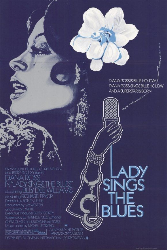 Lady Sings The Blues 1972. | Lady sings the blues, Cinema posters, Blues