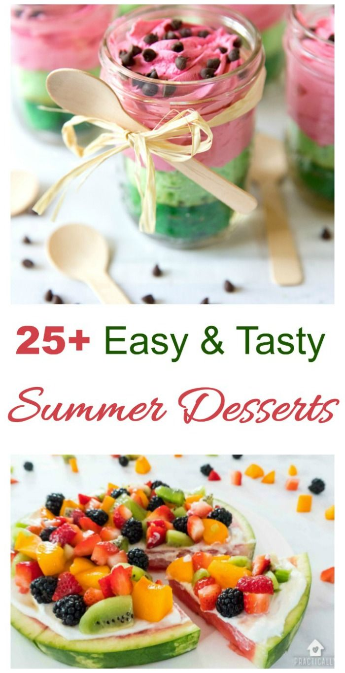 Summer Dessert Table - Tips for Sweets that Take the Heat -   16 outdoor desserts Table ideas