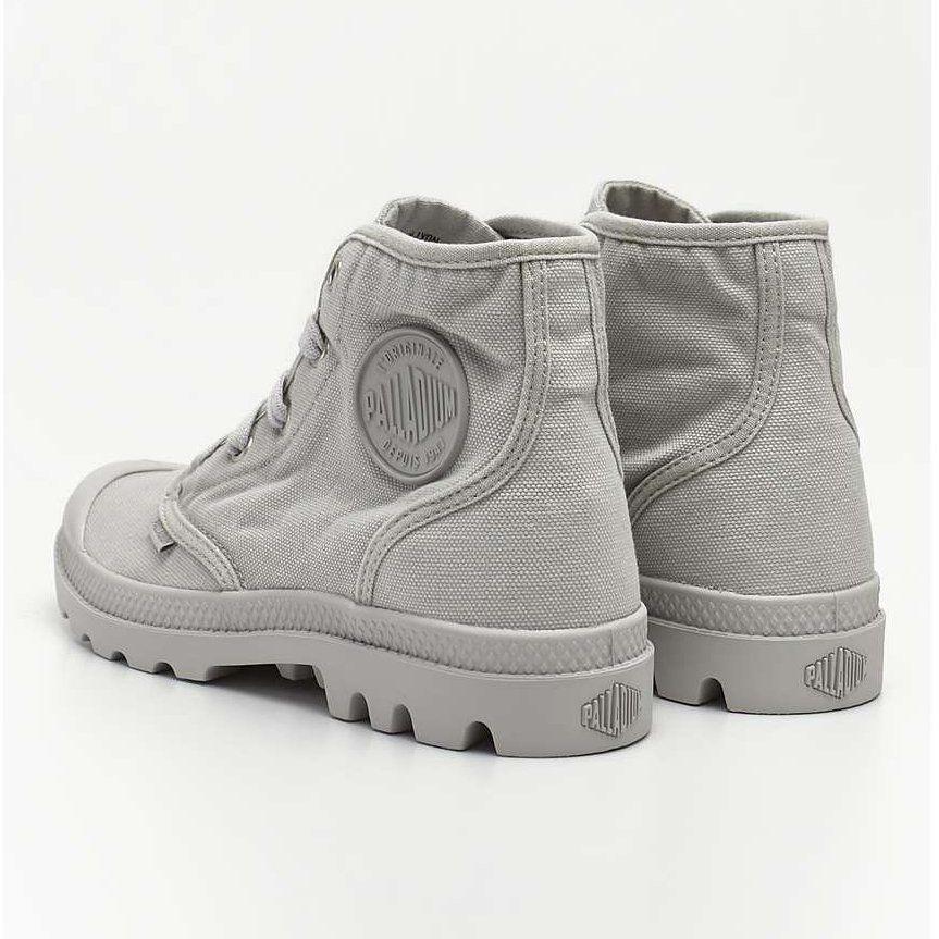 Sportowe Damskie Palladium Palladium Szare Pampa Hi 074 Vapor Timberland Boots Boots Shoes