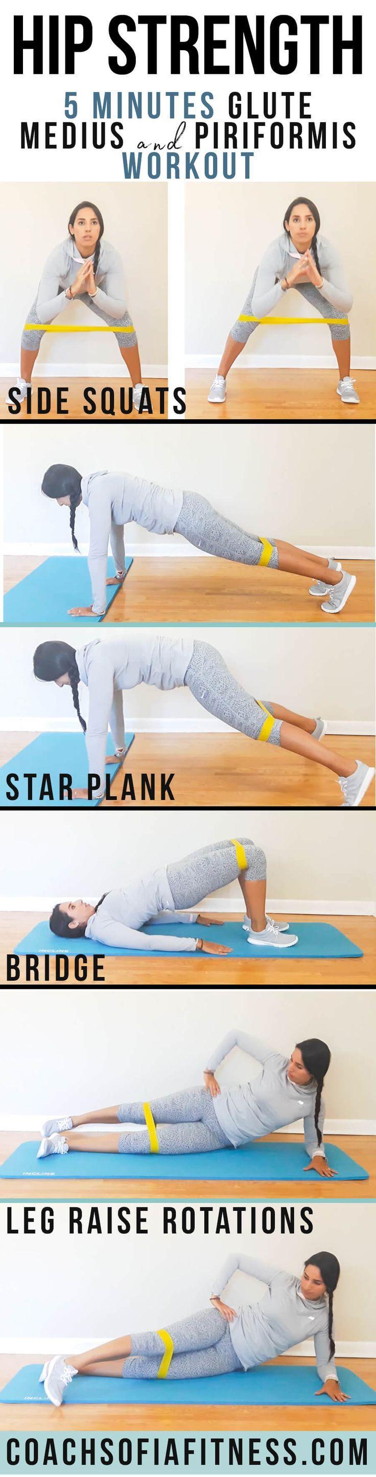 4 Glute Medius Strengthening Exercises (Piriformis Relief