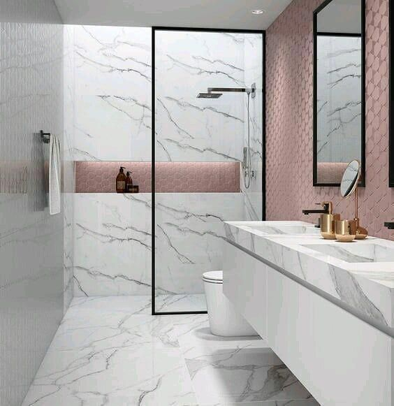 interiors  #bathroomdesign #интерьер #душ #душинтерьер #мрамор #marmur #interior #inspiringinteriors #designeridea #designinterior #design #bathroom ... #bathroomtiles