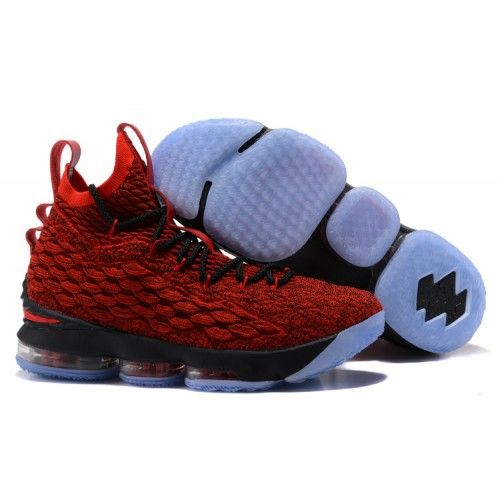 Lebron James 15 Basketball Shoes Red Black in 2019  28011a66b4