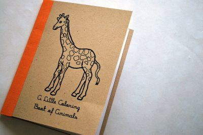 Handmade coloring book - find pictures for things that really ...