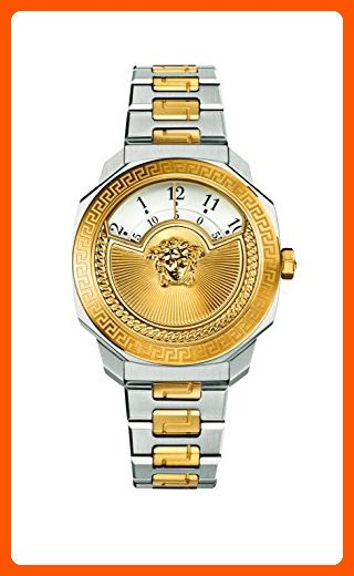 4a6d1ad2398c Versace Women s  Dylos Icon  Swiss Quartz Stainless Steel Casual Watch