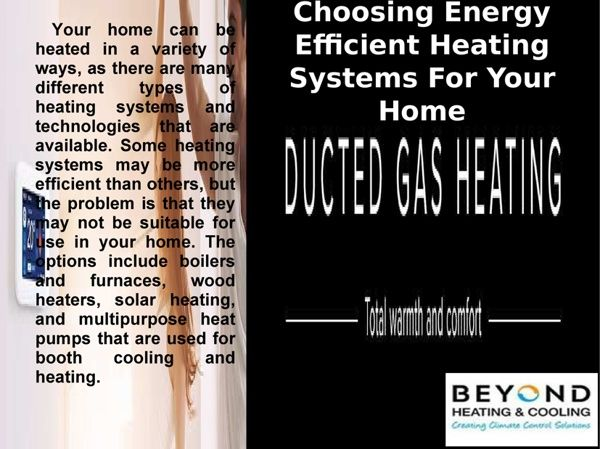 Ducted Heating Installation Lalor Gas Ducted Heating Units