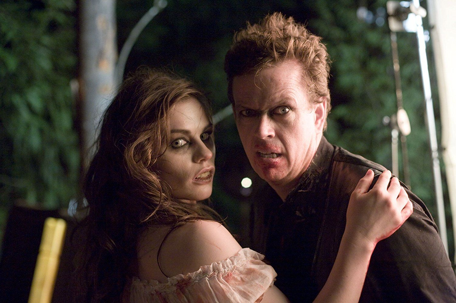 Anna Paquin and Dylan Baker in Trick 'r Treat (2007