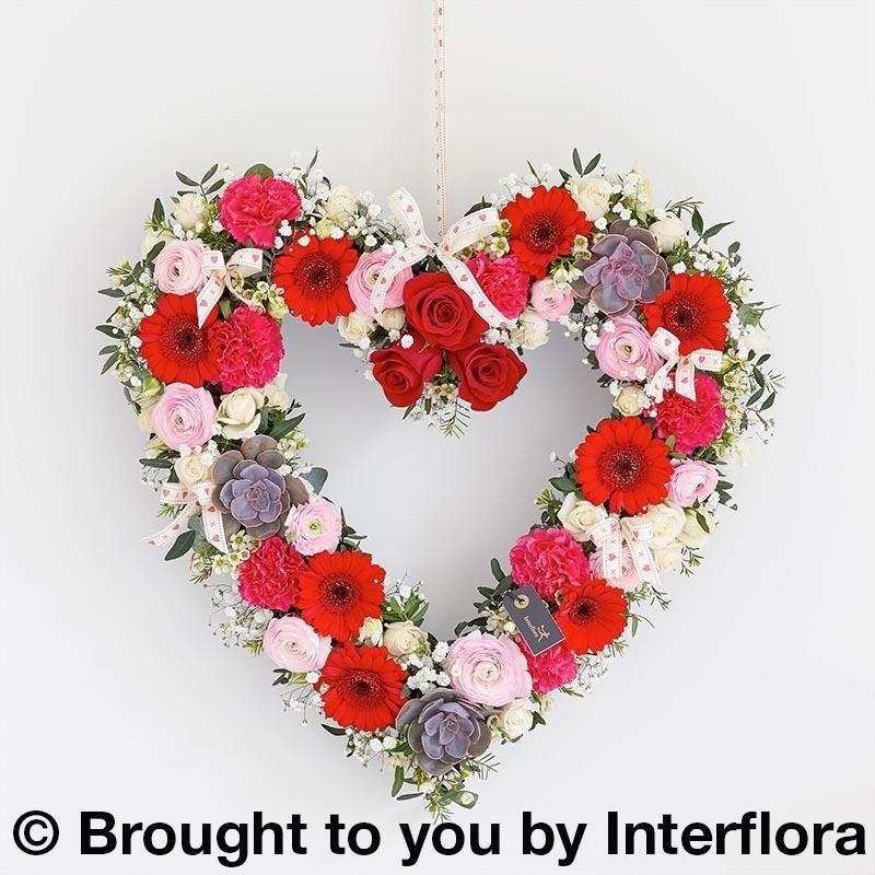 Enchanting Love Heart Arrangement | Designer Flowers by Rodgers