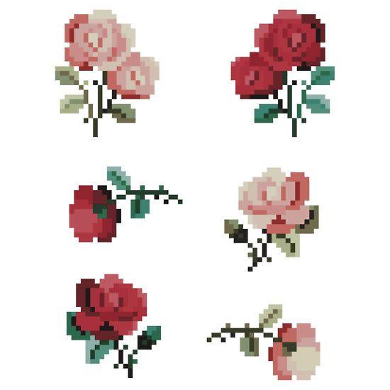 Set Of 6' Sticker By Pixelatedcowboy
