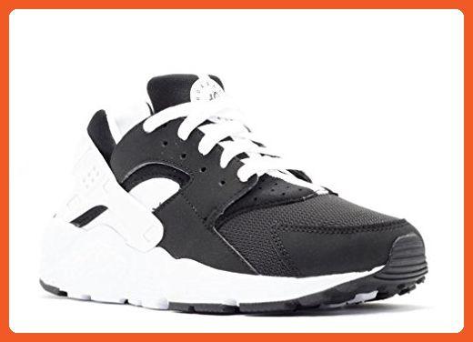 Nike Huarache Run Boys Shoes BlackWhite size 4.5 M US Big Kid