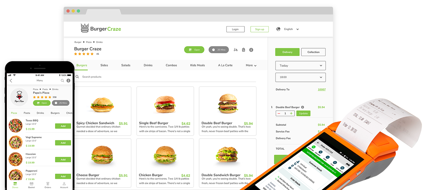 Reason behind the trend of Online Food Ordering through
