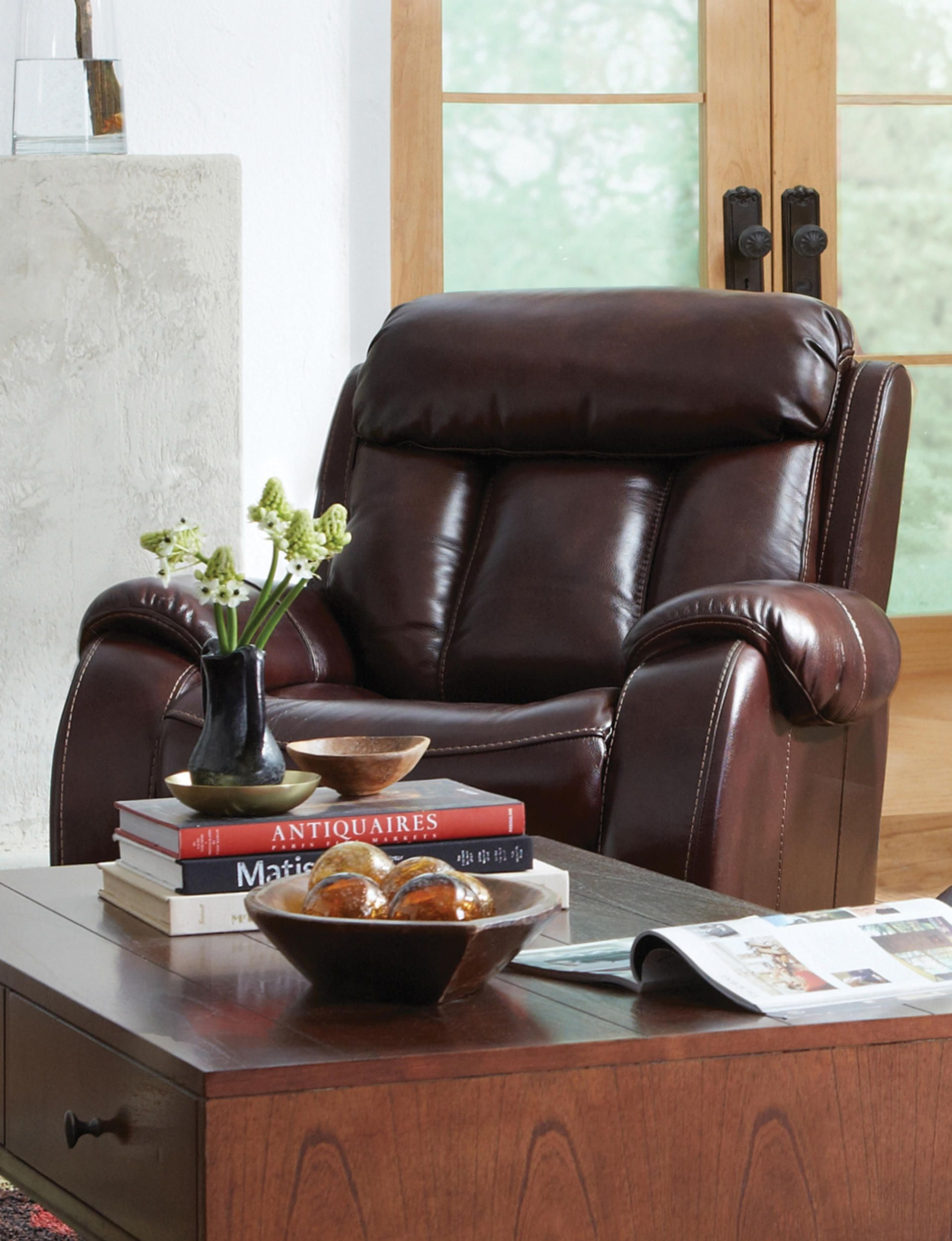 Miraculous The Bronson Reclining Leather Collection Aims To Please No Gmtry Best Dining Table And Chair Ideas Images Gmtryco