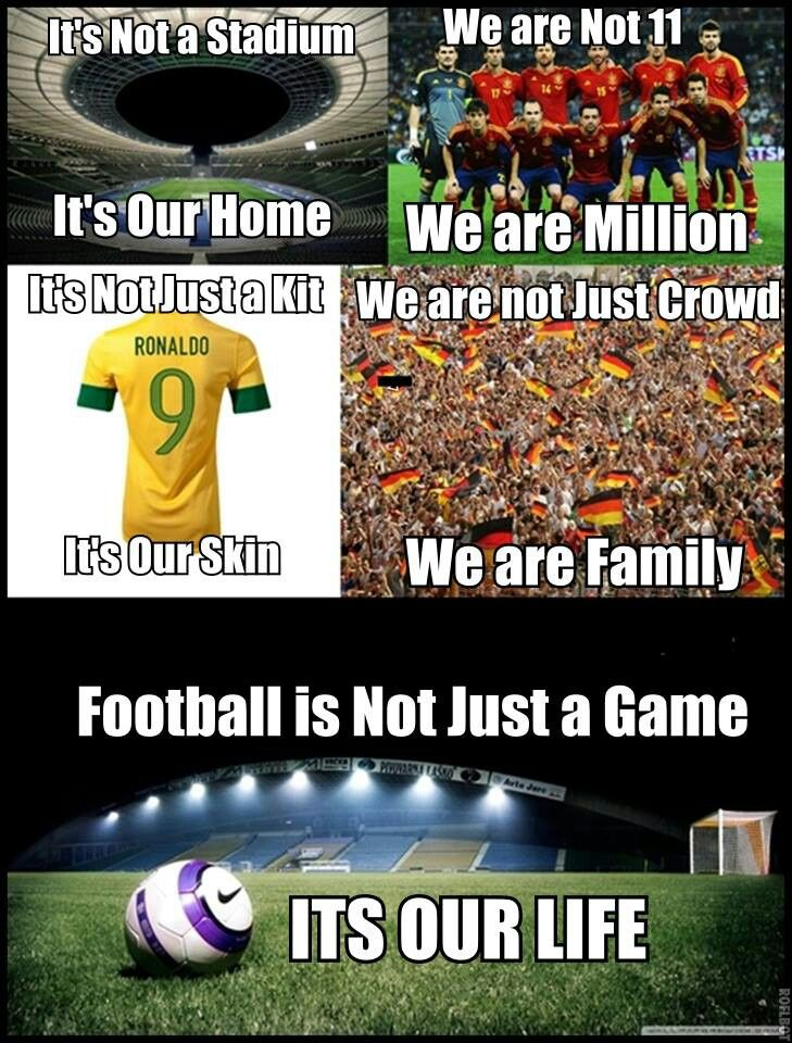 Football It S Football Not Soccer You Dumb Twits Soccer Motivation Soccer Fans Soccer Memes