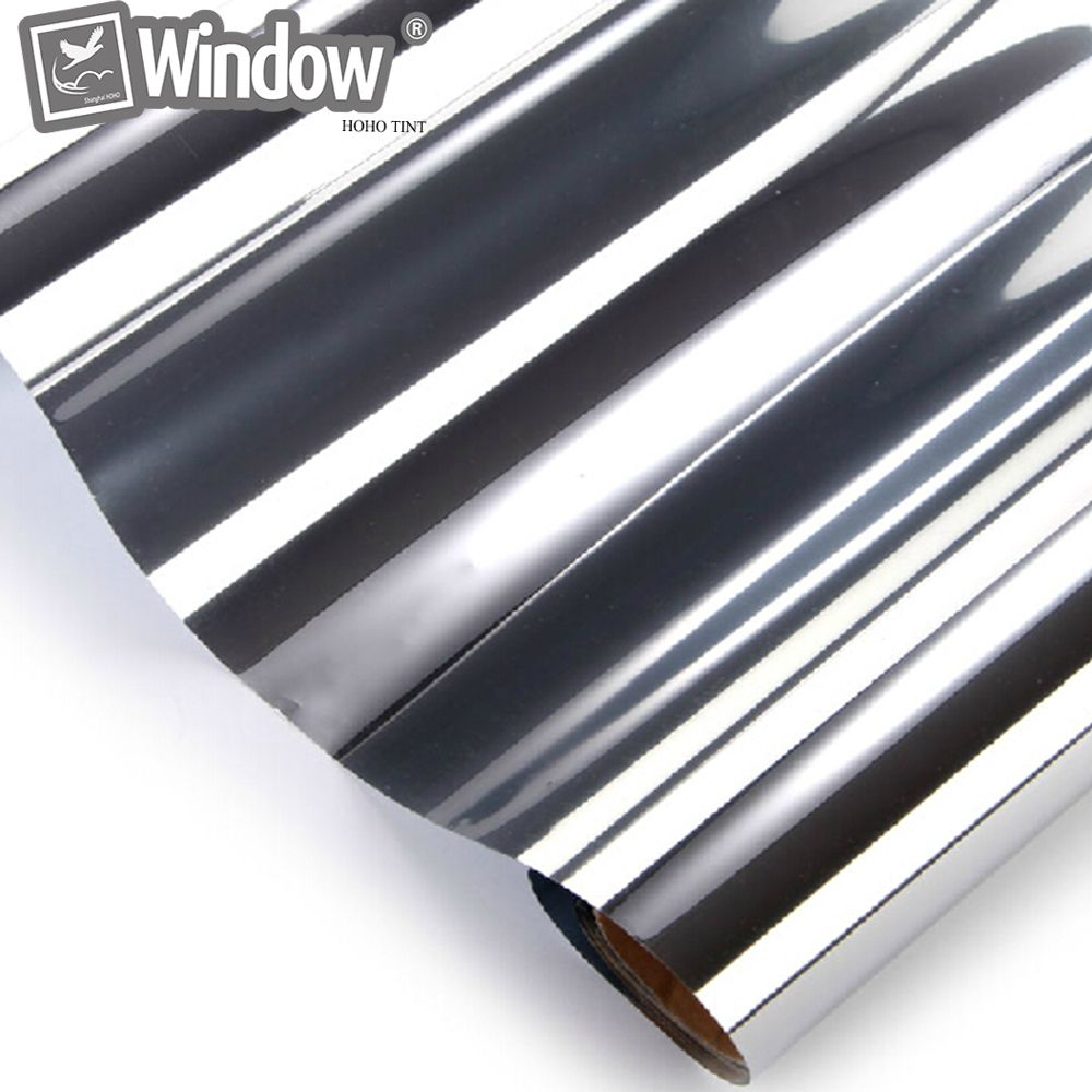 Home Building Commercial Window Tint 0.5x6m Silver