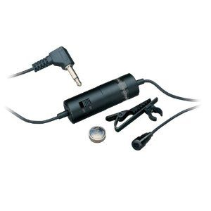 Audio Technica Atr 3350 Lavalier Omnidirectional Condenser