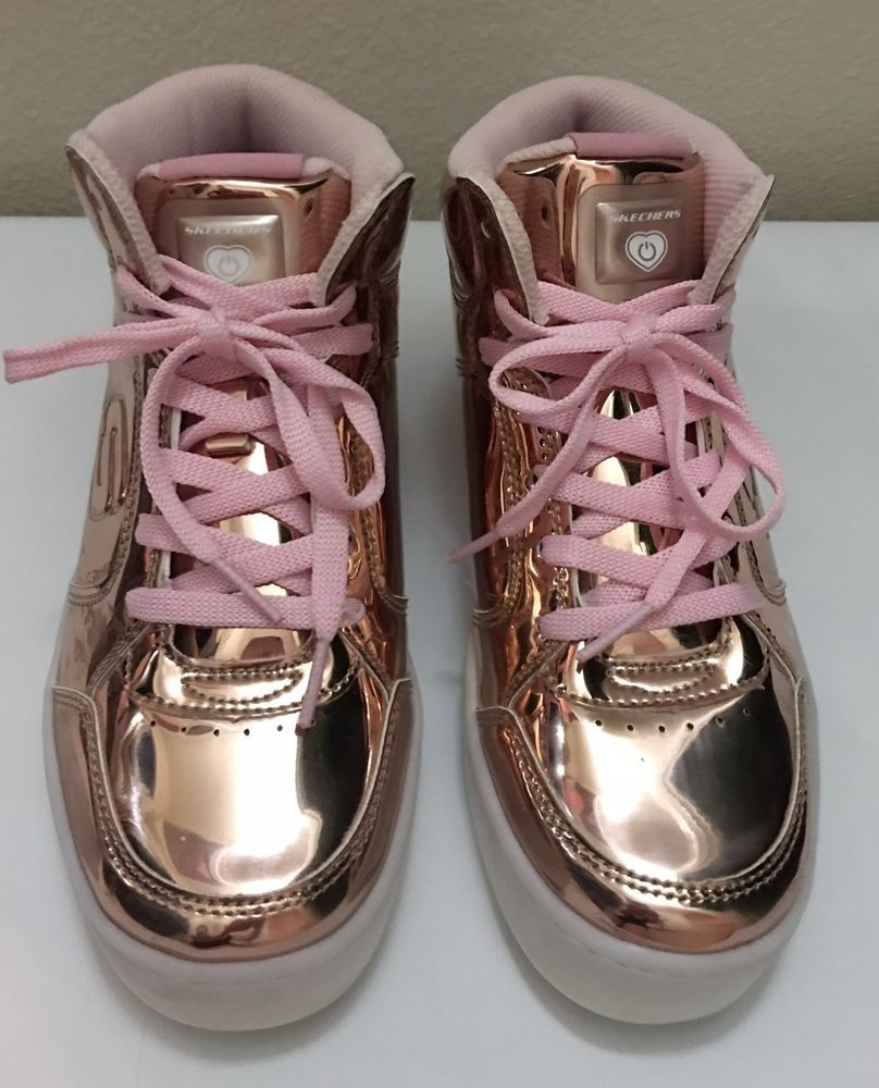 Girls Energy Lights Skechers Size 5