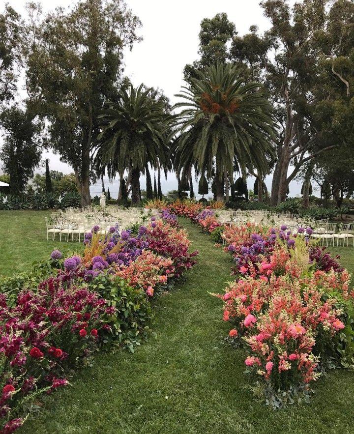 Craziest Wedding Ever: Wedding Aisle, Wildflower Wedding
