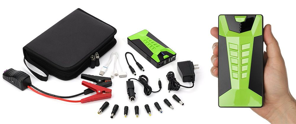 Best portable jump starter with air compressor reviews