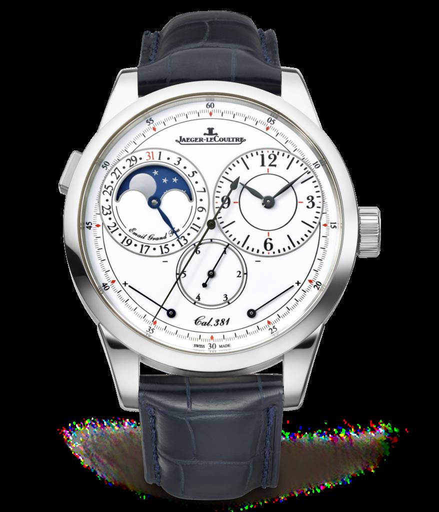 Jaeger-LeCoultre Duomètre Quantième Lunaire ($57,000)