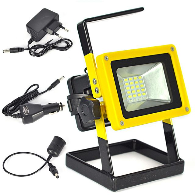 Buy BORUIT Brand White Blue Red Portable 10W Rechargeable Flood Light  Outdoor Lighting On Bdtdc.