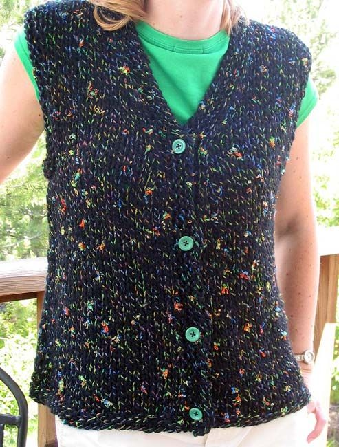Easy Knit Vest Projects To Try Pinte